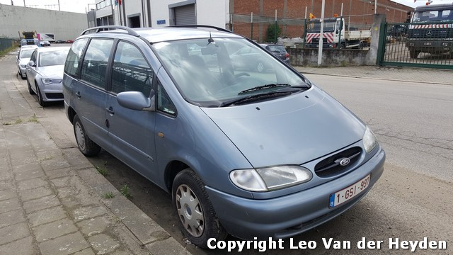 snelveiling FORD GALAXY