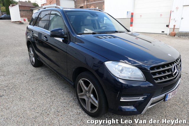 snelveiling: MERCEDES ML350
