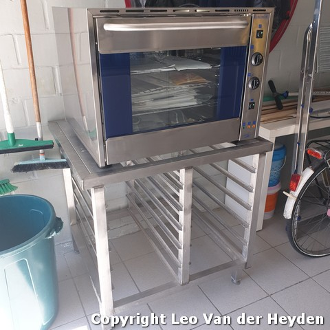 Oven - koelcel - bakfiets - Robot Coupe